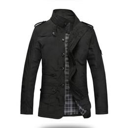 Vender chaqueta coreana online-Actionclub Moda Thin Men Jacket Coat Venta caliente Ropa Casual 5xl Confort coreano Otoño Overcoat Necesario Spring Coat