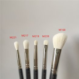 kit beauty Promo Codes - gqxsport MACJAPAN 221 219 239 217 168 5-Pieces Goat Hair Face&EyeShadow Blush Contour Blending Beauty makeup brushes Blender