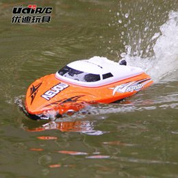 Wholesale 4ch Usb - UDI001 RC Boat Bateau One Propeller Remote Control Boats Remote Control Toys 2.4GHz 4CH Water Cooling High Speed RC Speed