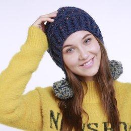 mezcla de la tapa del oído Rebajas Invierno Otoño Mujer Moda Moda gorras Mantener  caliente Sombrero 12c7792f459
