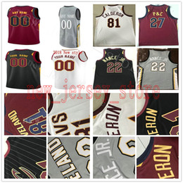 259a74bef NCAA College Printed The Land Gray 3 George Hill Jersey Kevin Love Tristan  Thompson JR Smith Ante Zizic John Holland David Nwaba Jerseys affordable  kevin ...