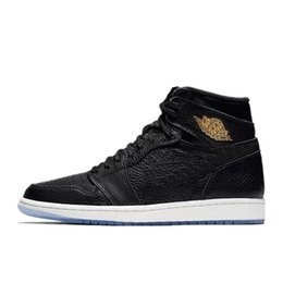 Wholesale Gym City - 2018 New Retro 1 OG LA City of Flight All-Star Basketball Shoes Mens Basketball Shoes Free Shipping with Box Sports Basketbol Shoes