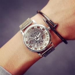 сталь jis Скидка 2017 New Fashion JIS Watch Gold Color Mens Watches casual Top  Hot Selling Ladies Watch Steel Women Dress Watches