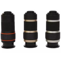 Mini-zoom-teleskop online-Zoom Objektiv 2017 8X Vergrößerung Teleskop Einzylinder Mini Teleskop Optische HD Zoom Objektiv für Handy mit kleinpaket DHL
