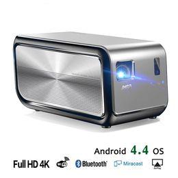 Wholesale android led projector full hd - JMGO J6S, Full HD Android Projector, 1920x1080 Resolution, 1100 ANSI Lumen, Set in WIFI, HIFI Bluetooth Speaker, HDMI, 4K LED TV