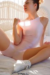 2019 calças justas rosa Lycra luz spandex macacão rosa elástica sexy collants bodysuit unisex desconto calças justas rosa