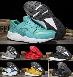 Wholesale popular men shoes brand - Cheap Huarache Running Shoes Men Women Red Airlis Huaraches Sport Tennis Popular Men's Women's Zapatillas Deportivas Brands Men Sneakers