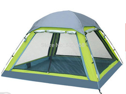 Wholesale Outdoor Large Camping Tent - FEITUO outdoor tent 3-4 person camping tent camping more than double rain canopy large outdoor 34