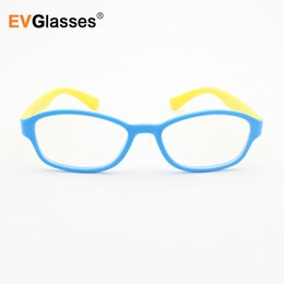 4e1edf156a Promotion Optical Children Glasses Frame TR Silicone Glasses Children  Flexible Protective Kids Diopter Eyeglasses
