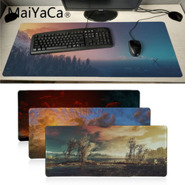 Mouse Pads Yinuoda Custom Skin Deck Chairs On The Beach Durable Rubber Mouse Mat Pad Extended Gaming Mouse Pad Large Mousepads