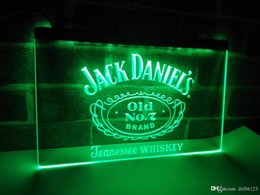 Wholesale neon signs display - LE048g- Jack Daniels Whisky Display LED Neon Light Sign