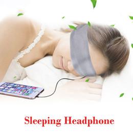 2019 auriculares para dormir Lavable antiruido Deporte Correr Dormir Auriculares Paquete Música Diadema Dormir Teléfono móvil Auriculares Para IOS Android rebajas auriculares para dormir
