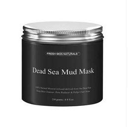 2019 acne remover creme Navio da gota DHL Nova Moda 250g Mulheres Máscara de Lama Corpo Puro Naturals Mineral Beleza Máscara de Lama Do Mar Morto para Tratamento Facial