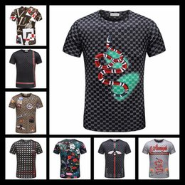 Wholesale French Mens Fashion - 2019 New Luxury Brand Mens T Shirt Summer Shirt US British French Style Long Sleeves Tshirt Hommes Chemise