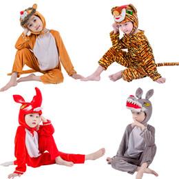 mascote, trajes, leão Desconto Jinxuan Fox Lobo Tigre Leão Urso Panda Crianças Crianças Adulto Animal Traje Macacão Stage Show Partido mascote
