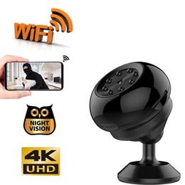 2019 aktiviert iphone Neue 4 Karat Mini Wireless Kamera WiFi Kleine Kamera Bewegung Aktiviert Überwachungskamera Nachtsicht Kindermädchen Cam für Android iPhone Control Viewing günstig aktiviert iphone
