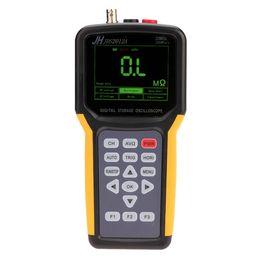 Wholesale Electrical Digital Meter - Handheld Multi-functional Digital 1CH Oscilloscope Portable Scope Meter 20MHz 200MSa s Multimeter 4000 Counts logic Analyzer