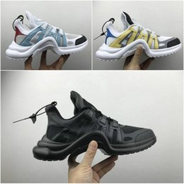 Wholesale Top High Cut Shoe Brands - 2018 Designer New Brand Luxury High Top Sneakers Mens Womens Running Shoes Personal Casual Wholesale Fashion Shoes Size 35-44