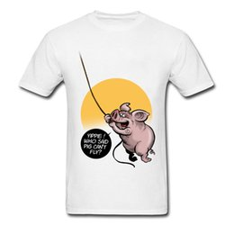 71aea6b0720 T Shirt Silly Cute Pig Tops Tees Summer 2018 Newest Design Short Sleeve  Coon Round Collar Men s T Shirt Funny Tees