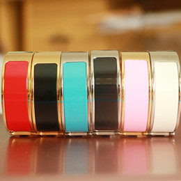 Wholesale 18mm Letters - fashion 18mm Luxury Cuff H Bracelet&Bangles for women Classic gold Bracelet Letter Buckle Wristband fashion lover silver h bangle with bag