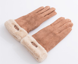 handschuhtelefon Rabatt Winter-Handschuh-Touch Screen-Handschuhe des Winters 2018 warme volle Finger Guantes-Handschuh-Handy-Note iGloves Freies Verschiffen