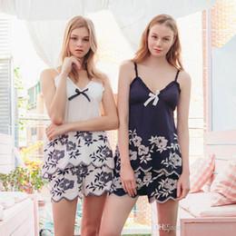 Argentina Hopeforth Sexy pijamas de verano de algodón de las señoras arnés pijamas de las mujeres atractivas pijamas bordados moda ropa interior sexy Suministro
