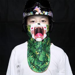 Маска для детей зима теплая маска для лица холодная защита Chidren лыжная маска Сноуборд ветрозащитный мотоцикл велосипед шарф от Поставщики персонализированные маски