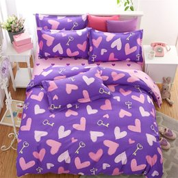 Wholesale Silver King Size Comforter Set - Fashion Kids Comforter Bedding Set 4pc Duvet Cover Pillowcase Bed Sheet Cartoon Home Textile Twin Full Queen King Size