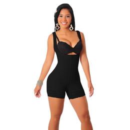 Wholesale Plus la Taille XL Minceur Zipper Full Body Shaper Sous Vêtements Taille Corset Tummy Tondeuse Firm Control Pour Les Femmes Chaud Shaperwear Shapewear