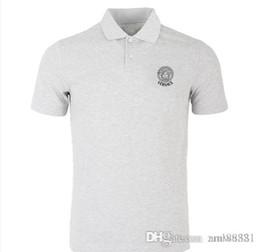 camisetas hombre nuevos diseños Rebajas new2019 VLONEs hombres / mujeres camisetas nuevo diseño bordado de peces de colores marca de alta calidad de algodón nuevo O-cuello de manga corta hombres mujeres camiseta
