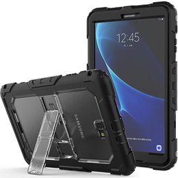 2019 porzellan laptop rosa Hülle für Samsung Galaxy Tab A 10.1 2016 T580 T585 SM-T580 Kids Safe Ganzkörper Stoßfest Schwere Rüstung Hard Samrt Cover