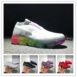 best service 6dbe1 2ab8b 2018 cuscino d aria Rainbow BE TRUE Shock Kids Scarpe da corsa Moda nera  Casual Designer Maxes Scarpe sportive taglia 28-35 scarpe da corsa libere  economici