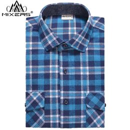 dc78814458f 2018 Autumn Winter Fashion Men s Flannel Shirts Slim Fit Two Chest Pockets  Men s Plaid Casual Flannel Shirt Men Long Sleeve. Supplier  synthetic
