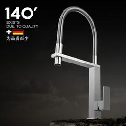 Lavandino lavandino online-304 rubinetto in acciaio inox, lavello universale caldo e freddo rotante, cucina, lavapiatti, vasca di lavaggio, senza piombo