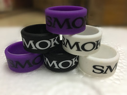 Wholesale China Wholesalers Online - 2018 hot selling vape band rings with SMOK logo cheap smoking accessories custom print logo online shopping china product