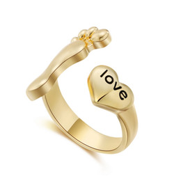 Wholesale nobles for sale - Noble Silver Plated Lovers ring Hot Sale Trend Fashion Love Heart Couple ring for Women man wedding Rings jewelry gift
