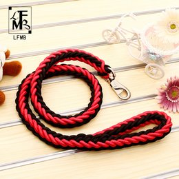 Wholesale Rope Slip Leash - [LFMB]2017 Pet Dog Leashes For Large Dog Show Lead Dogs Leash Pet Traction Rope Slip Lead High Quality Size S-XL