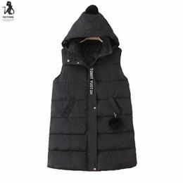 Wholesale Womens Long Black Vest - Womens Plus Size Hoodie Waistcoat Vest Gilet Jacket Coat Parka Outwear