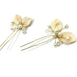 artificial jewelry wedding Coupons - Exqusite artificial diamond pearl wedding hairclip hairpin Jewelry new bride headbandTS204 cheap wholesale price