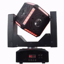 Wholesale Pro Stage Lighting - Wholesale- Cube Mini night club    dj pro light moving heads wash + beam stage lighting effect 2017