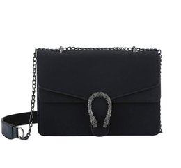 c9519073fdd4 Chinese 2017 New Euramerican fashion designer handbags women bags crossbody  single shoulder bags frosted snake head