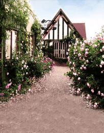 Foto szenischen hintergrund hintergrund online-5x7ft Vinyl bunte Blume Outdoor Scenic Hintergrund Foto Studio Hintergrund
