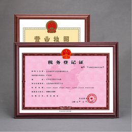 Wholesale Picture Mounts - Wall Mounted & Countertop Wooden Document Diploma Frames for Diploma,Certificate,Picture and Poster WP024