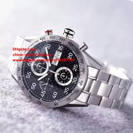 Wholesale Calibre 16 Sapphire - 6 Style Luxury Best Edition Watch HBB V6 Factory 43mm Calibre 16 CV2A10 Chronograph Working Swiss ETA 2836 Movement Automatic Mens Watches