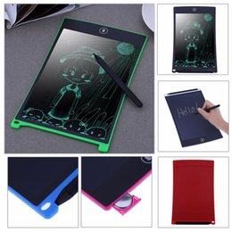 Wholesale touch screen for tablets - Portable 8.5Inch Digital Mini LCD Writing Screen Tablet Drawing Board for Adults Kids Children+Touch Pen