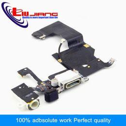 pièces de câble de casque Promotion Liujiang Original Dock Connector Port de recharge USB pour 5 5G avec prise casque Tail Plug Flex Cable Pièces de rechange