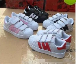 Wholesale hooks sale - . Hot Sale NEW STAN SMITH SNEAKERS CASUAL LEATHER Children shoes SPORTS JOGGING SHOES kid's CLASSIC FLATS SHOES SUPERSTAR for kid