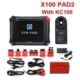 2019 codice pin chiave del chrysler Original XTOOL X100 Pad2 Pro Programmatore automatico chiave con KC100 per VW 4th 5th Pro PAD 2 EPB EPS OBD2 Contachilometri Multidiag-Languages