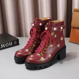c6ecd81460af haute qualité dames bottes hautes talon haut sauvage 15 pouces bottes de  luxe première couche de vachette matériel casual chaussures femmes marque  boîte d  ...