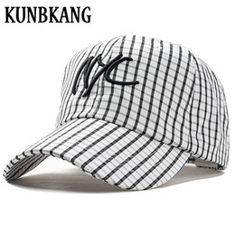 9a66b722f23 New Summer Baseball Cap Breathable Embroidery NYC Striped Sun Dad Hat For  Men Women Outdoor Leisure Casual Snapback Caps Gorras